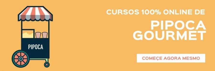 Ebook com Receitas de Pipoca Gormet - Curso de Pipoca