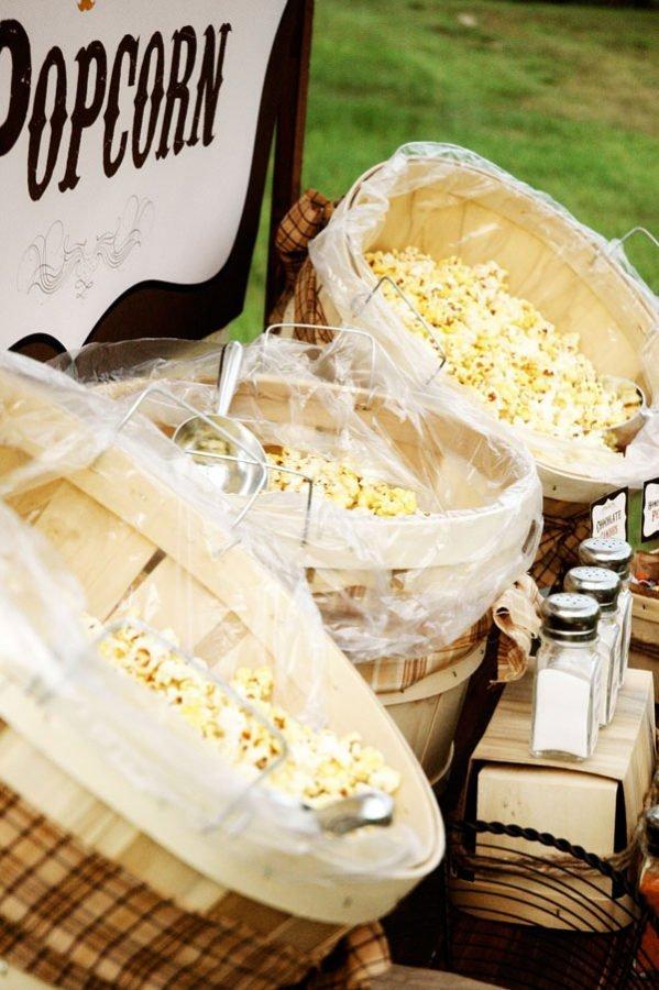 Idéia de Carrinho da Pipoca Gourmet para Eventos e Casamentos